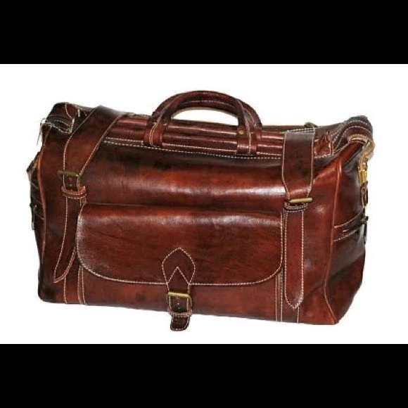 f6df6e0f99f PAVA LEATHER Bags | A Handsome Leather Handmade Durable Duffel Bag ...